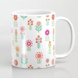 Colorful Floral Garden Coffee Mug