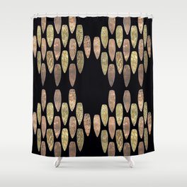 Raining Daggers Shower Curtain