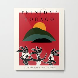 Trinidad & Tobago Exhibition Metal Print