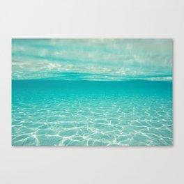 Scenic Ocean Seascape photo Canvas Print