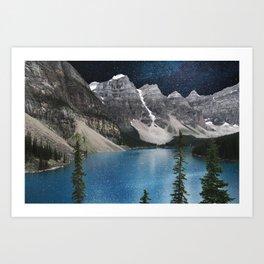 Northern Blues Art Print