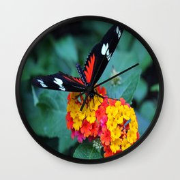 Wild for You Wall Clock