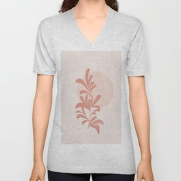 Minimal Little Branch III Unisex V-Neck