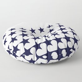 Love Among Stars Floor Pillow