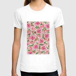 Red Rose Bouquet T-shirt