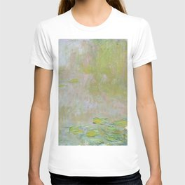 Water Lily Pond by Claude Monet T-shirt