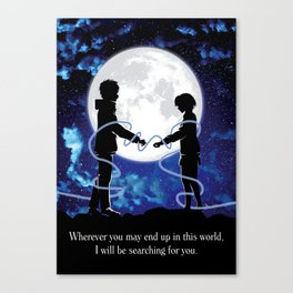 Connected - Your name Canvas Print