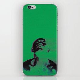 Sanguivorous (glitch, green) iPhone Skin
