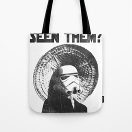 The Bucket Brigade: Search for Imperial Chin Tote Bag