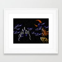 castlevania Framed Art Prints featuring Castlevania III Trevor Belmont poster by VGPrints