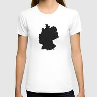 germany T-shirts featuring Germany by Fabian Bross