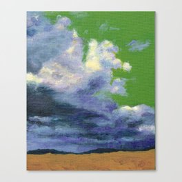 Storm at Terlingua Canvas Print