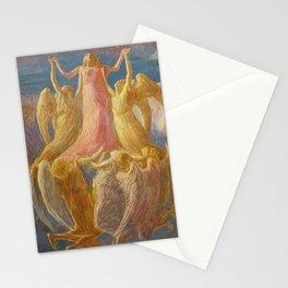 L'Assunzione (Assunta), Portrait by Gaetano Previati Stationery Cards