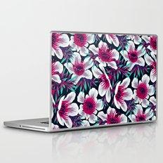 Manuka Floral Print -  Light Laptop & iPad Skin