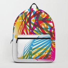 4 Corners of Abundance (wide) Backpack