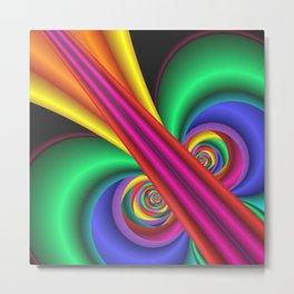 fresh colors -8- Metal Print