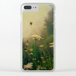 Ethereal Fog Clear iPhone Case