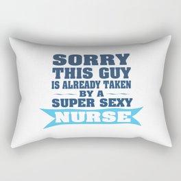 Sorry This Guy is Already Taken Rectangular Pillow