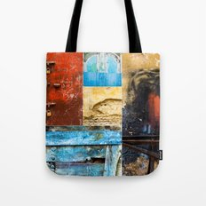 Moroccan Textures Montage Tote Bag