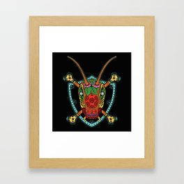 Locust Cider Bug Framed Art Print