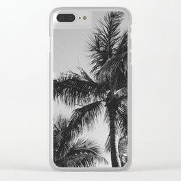 Hawaii- Palm Clear iPhone Case