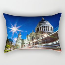 St Paul's at Night Rectangular Pillow