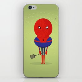 My bug hero! iPhone Skin