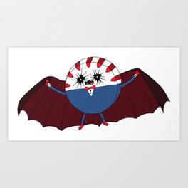 Contaminated Candy: Peppermint Butler Art Print