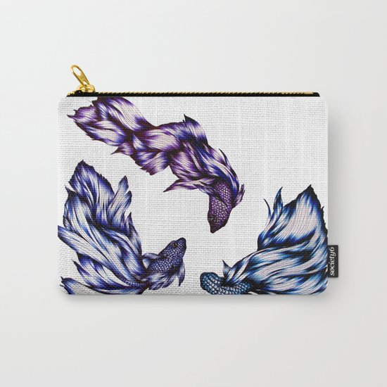 Three Swimming Carry-All Pouch