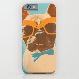 Dapper Frenchman iPhone Case