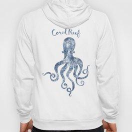 Octopus Coral Reef habitat Hoody