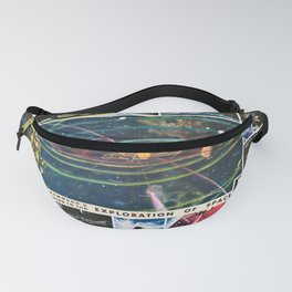 1959 Hammond's Guide To The Exploration of Space Wall Art Fanny Pack