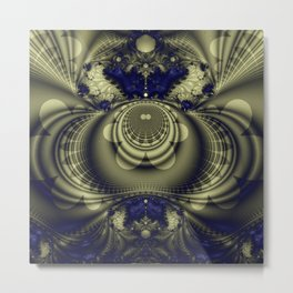Fractal Abstract 20 Metal Print