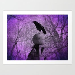 The Surreal Caw Art Print