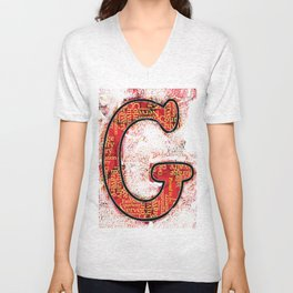 "Proud to be ""G"" Unisex V-Neck"
