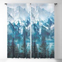 Towering Peaks Blackout Curtain