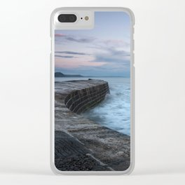 Sunset Over the Cobb Clear iPhone Case