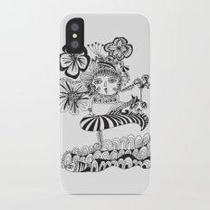 Chill Lady Slim Case iPhone X