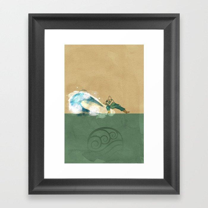 Avatar Korra Framed Art Print