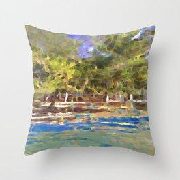 Spirit Forest Throw Pillow
