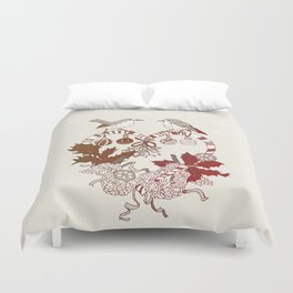 Robin Wreath Duvet Cover