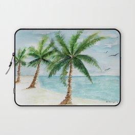 watercolor palm Laptop Sleeve