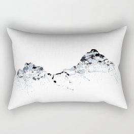 MOUNT MYTHEN MOUNTAINSPLASH grey Rectangular Pillow