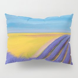 LAVENDER FIELD of SANTA YNEZ Pillow Sham