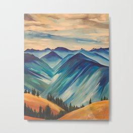 Hurricane Ridge, Olympic National Park Metal Print