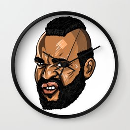 Mr T / Clubber Lang Wall Clock