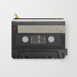 Cassette Tape Carry-All Pouch
