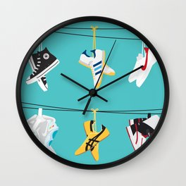 Flick Kicks Wall Clock