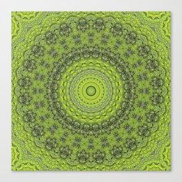 Green Tree Trunk 2 Canvas Print