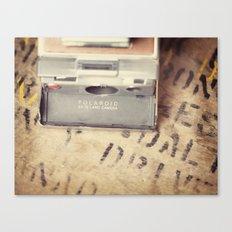 VIntage Polaroid SX-70 Canvas Print
